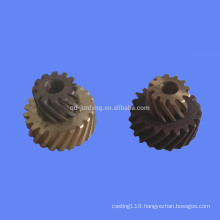 Customized precision small double helical gear