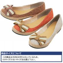 Good Quality Flat Women flax Upper with Woven Flax Shoes 2014 with bowknot