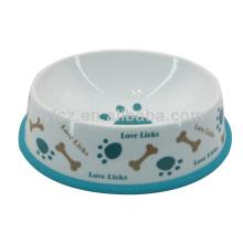 cuencos de cerámica del perro al por mayor