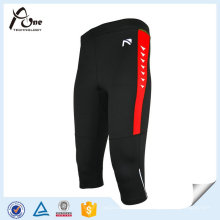 Quick Dry Tights Pantalones cortos para hombre 3/4