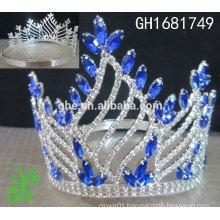 New designs rhinestone royal accessories wholesale rhinestone pageant crowns