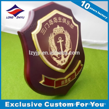 2016 hot seller wooden metal award trophy from China suppliers