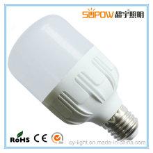 Cool White 220V 15W 20W 30W 40W E27 LED em forma de T Big Bulb