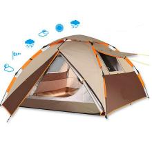 Tente de randonnée imperméable automatique durable de champ de plage de camping extérieur