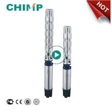 CHIMP - Bomba de agua sumergible centrífuga de pozo profundo trifásico de 17.5 HP