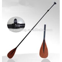El tipo del OEM pintó la paleta de la fibra de carbono del balde del color con la protección de la cuchilla del ABS / la paleta de pie