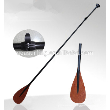 OEM type painted color balde carbonfiber paddle with ABS blade protection/stand up paddle