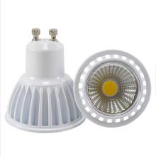 Foco de haz de 120 grados GU10 MR16 LED COB Foco