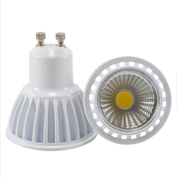 120 Degree Beam Angle GU10 MR16 LED COB Spotlight