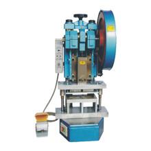 Máquina de perfuração de dois cartões com alta qualidade