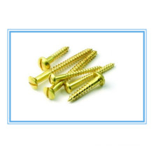 ANSI B18.6.1 Slotted Pan Head Wood Screw