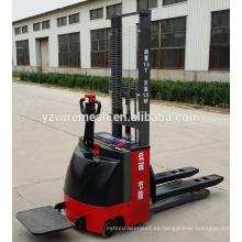 China proveedor paleta eléctrica apiladora, carretilla elevadora eléctrica de alta calidad