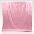 Custom Extra Large Luxury Pink Towel Blanket