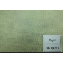 Tissu SMS (jaune 35GSM)