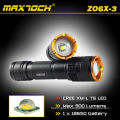 Maxtoch ZO6X-3 cris réglable T6 900lm a lampe-torche Cree Zoom