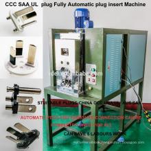 automatic three core cable plug press insert machine