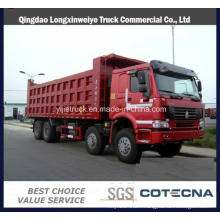 Sinotruk HOWO 371HP 8*4 40ton Dumper for Sand Transportation