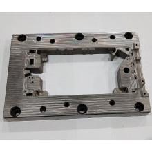 Piezas de molde de material de acero cuadrado