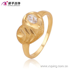 13552 New Arriva bajo precio para niños de oro joyería CZ anillo de \ zirconia para diseño de Bady