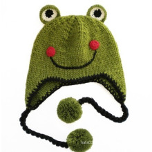 The Frog Prince Smile Bonnet Beanie Enfants (XT-CB002)