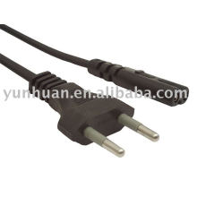 Cordon d'alimentation câble électrique Radio régler avec Branchez le cordon du sèche-cheveux TV