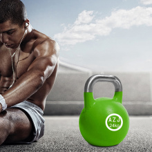 Plastic Coating Cast Steel Kettlebell