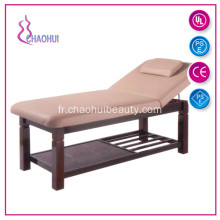Table de Massage de Base en bois pour le Spa salon