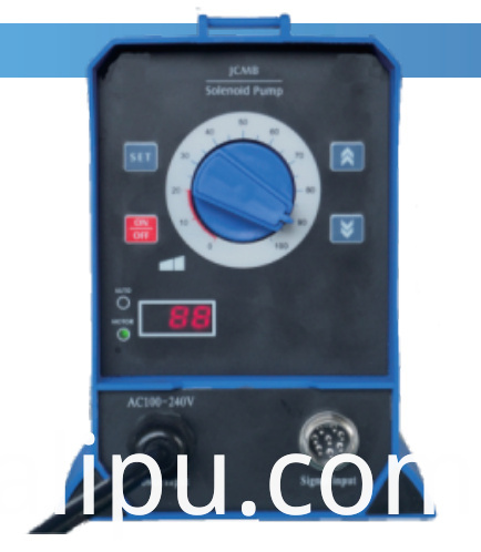 Solenoid pump Auto-Adjust (4-20mA electric current signal control with Rs485 communication interface)
