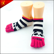 2015 Japanese Cute Ankle Toe Socks