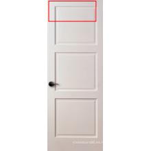 Puerta de coctelera con 3 paneles blancos imprimados