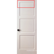 White Primed 3-Panel Shaker Door