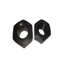 Tuercas hexagonales de acero con gran ancho entre caras