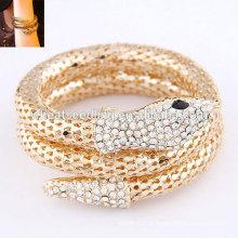 2014 модный сплав браслет золотой змей браслет