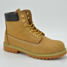 Ufl002 Nubuck Leather Cowboy Working Safety Shoes