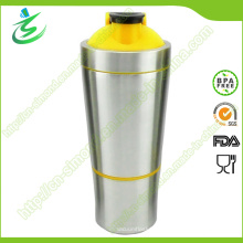 700ml botellas al por mayor sin tablero BPA-Shaker del metal