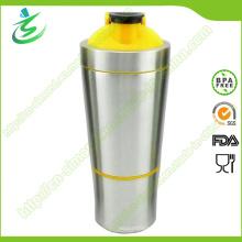 700ml BPA-Free Wholesale Metal Shaker Bottles