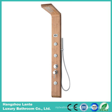Three Functions Bamboo Bathroom Rainfall Panel Bamboo Material (LT-M201)