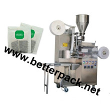 tea bag packaging machine with string and tag