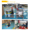 Equipo de tubería de llenado de aceite de dispensador de combustible de lubricante