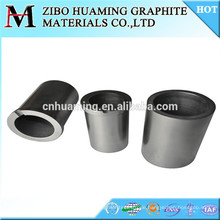 High temperature graphite crucible for melting aluminum