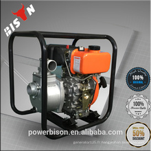 Bison Chine Zhejiang New Design Fiable 2 '' 2inches Puissante pompe à eau diesel haute pression à usage industriel