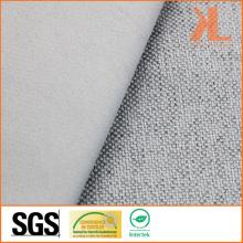 Polyester Inherently Fire / Flame Retardant ignifuge Linge Look Blackout Fabric