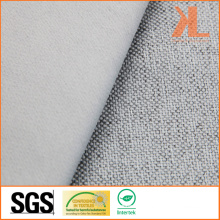 Polyester Inherently Fire/Flame Retardant Fireproof Linen Look Blackout Fabric