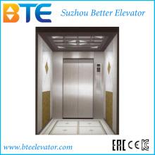 Elevador de alta carga y buena calidad con sala de máquinas pequeñas