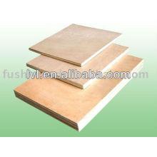 Birch Face Veneer Poplar Core Carb Plywood