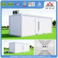 Haute qualité de taille différente récipient de stockage préfabriqué frigorifique maison bas prix