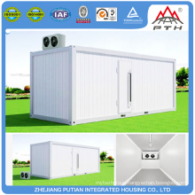 High quality different size cold prefab storage containers house low price