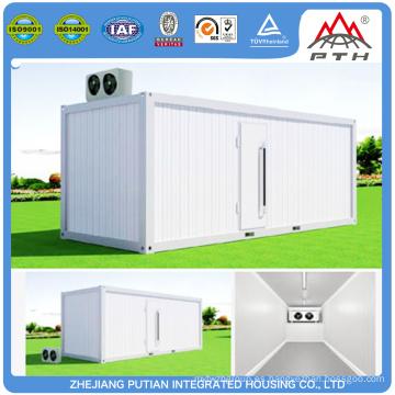 Alta calidad de diferentes tamaños prefabricados prefabricados frío contenedores de bajo precio