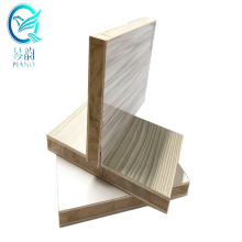 Shanghai Qinge 4x8 15mm melamine faced alcacia core laminated block board  manufacturers with CARB certificate