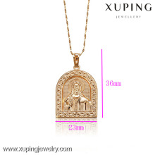 C201051-32079-Xuping Simple Design Gold Jewelry Pendant